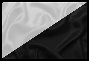 Le drapeau noir et blanc