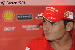 Fisichella est confiant avant son premier Grand Prix avec Ferrari