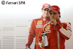 Massa, grand absent ne peut pas défendre ses chances dans le classement Fan-F1