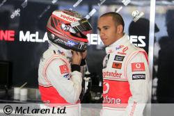 L'écurie McLaren-Mercedes fait forte impression après la première séance d'essais libres