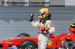 Hamilton peut lever le point, il vient de réaliser sa deuxième pole position de la saison
