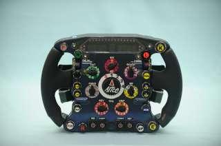 (c) Ferrari - Le volant de la F60