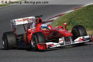 Alonso fait déjà des étincelles en rouge !