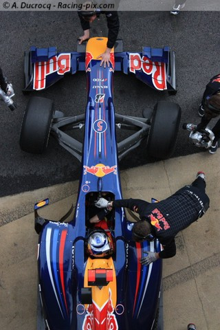 Vettel a fait parler la poudre à Bahrein !