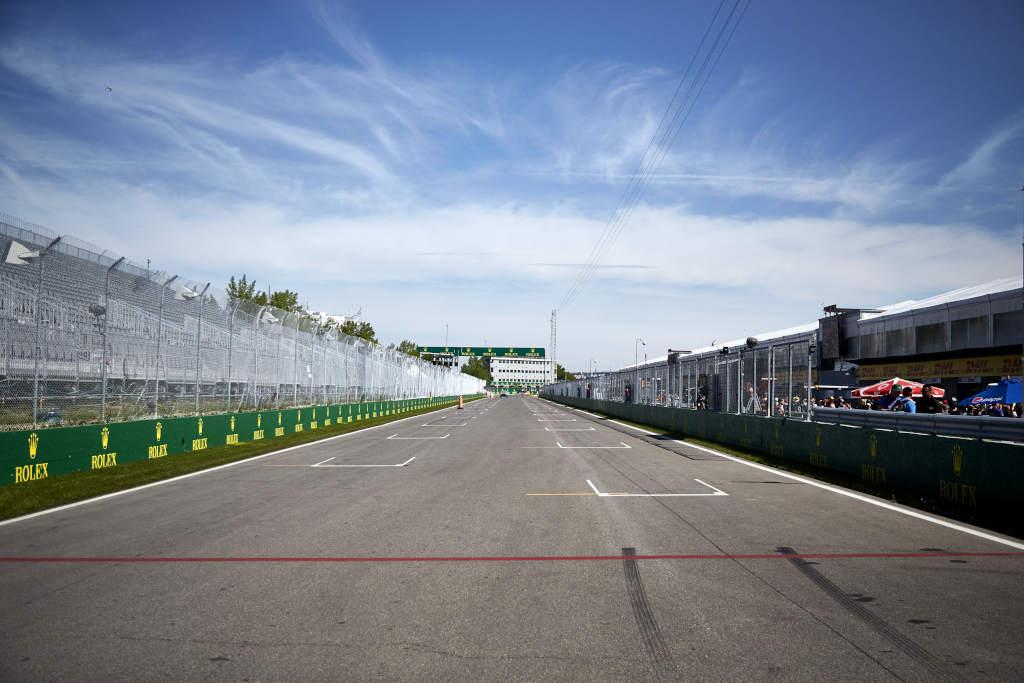 La grille de départ du circuit Gilles Villeneuve