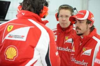 (c) Ferrari - Pilotes et ingénieurs doivent encore travailler