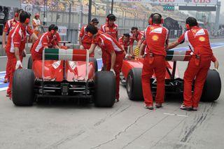 (C) Ferrari/ Une bonne nouvelle pour les rivales de Red Bull?