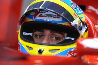 © Ferrari / Alonso sort du silence