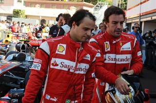 © Ferrari / Massa a le soutien d'Alonso