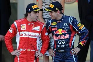 © Ferrari - Alonso et Vettel auront tous les regards rivés sur eux ce week-end.