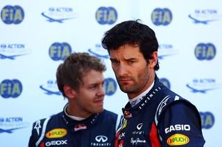 © Gepa - La relation entre Mark Webber et Sebastian Vettel n'a jamais été facile