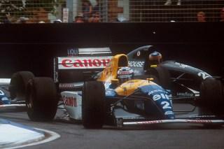 (c) LAT - Wendlinger côté à côté avec Prost en 1993, à Monaco