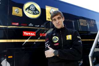 (c) Petrov a signé son meilleur temps 10 minutes avant la fin de séance aujourd'hui