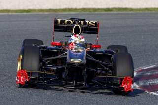 Lotus Renault vise le top 6 demain