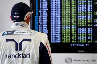 (c) LAT - Maldonado compte bien faire partie du top 10 à l'arrivée en Italie