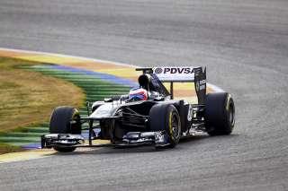 Une Williams, deux pilotes, trois pistes et beaucoup de données à analyser...