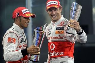 © McLaren - Hamilton et Button ravis d'être sur le podium