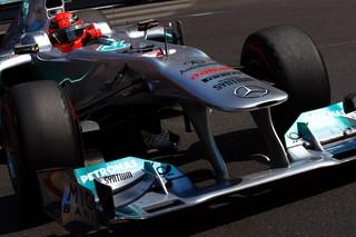 (c) Mercedes / Une belle remontée pour Schumacher à Spa cette année.
