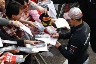 (c) Mercedes GP - Une popularité toujours aussi grande