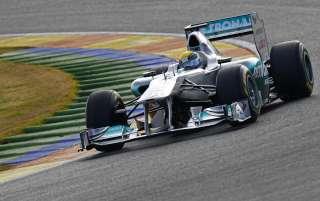 (C) Mercedes GP, Tout va bien pour le moment
