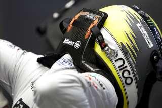 (c) Mercedes GP - Nico Rosberg n'a pas pris beaucoup la piste aujourd'hui...