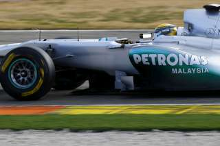 (C) Mercedes GP/ Rosberg débute bien son week-end