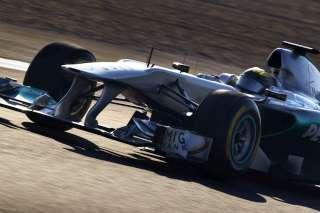 © Mercedes / Tir groupé en qualif pour Mercedes