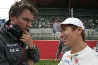 © Sauber - James Key (en discussion avec Kamui Kobayashi) a décidé de quitter Sauber
