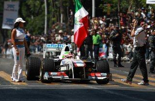 © Sauber - Bernie Ecclestone travaille à un retour de la F1 au Mexique en 2014
