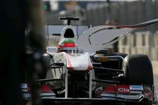 (C) Sauber, Un seul stop pour Pérez!