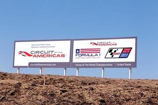 © Sutton - Les pilotes ne voudront pas tomber dans le panneau du Circuit des Amériques