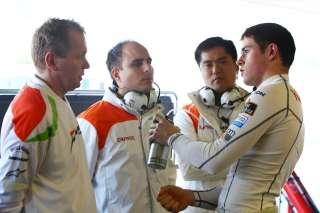 Force India travaille pour amener ses pilotes au top 10