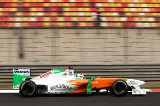 © Sutton - Double arrivée dans les points pour Force India