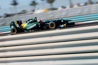 © Team Lotus - Bonne entrée en matière pour Trulli et Kovalainen à Abu Dhabi aujourd'hui