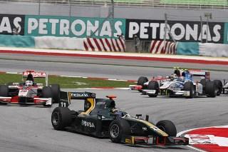 © Caterham Racing - Gonzalez lors de la course en Malaisie