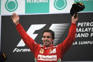 © Ferrari / Alonso est le cinquième homme le plus victorieux en F1