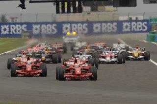 © Ferrari - Retrouvailles entre F1 et Magny-Cours