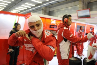 © Ferrari - Massa a sû ravir le stand des rouges grâce à son podium à Suzuka