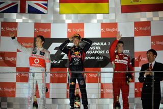 © Ferrari - Vettel l'emporte et se relance !