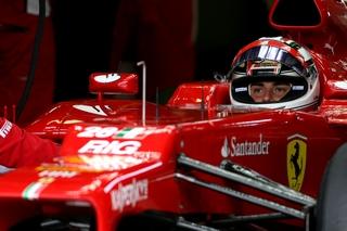 © Ferrari - Davide Rigon reprend la piste avec Ferrari