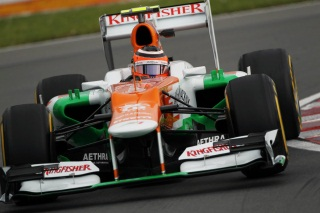 © Force India - Hülkenberg reculera de 5 places sur la grille