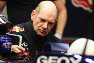 © Gepa - Adrian Newey ne cache pas sa satisfaction