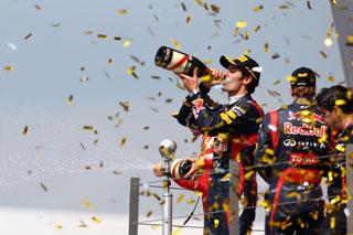 Webber espère monter sur la 1ère marche du podium devant son public