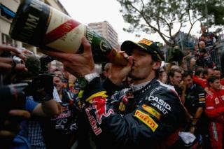 � GEPA - Mark Webber a sabr� le champagne du