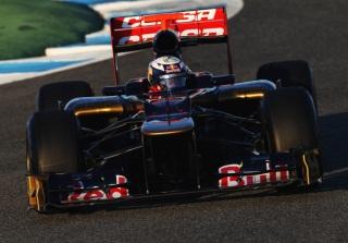 © GEPA - Toro Rosso à son aise à Barcelone