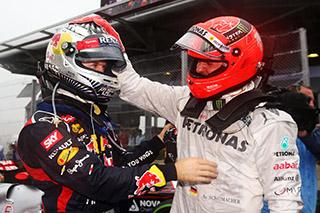© GEPA - Schumacher pense que Vettel sera en mesure d'égaler ses records voire de les battre