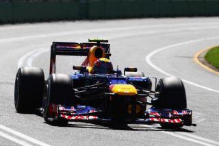 © GETTY IMAGES - Les Red Bull en rang serré en Chine