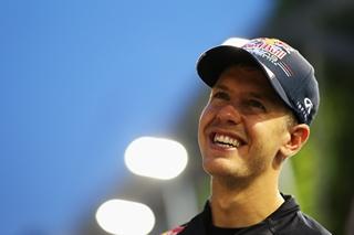 © Getty Images - Sebastian Vettel affiche un sourire radieux depuis le Grand Prix de Singapour.