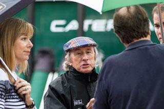 © Guignet 2012 - Jackie Stewart toujours inquiet pour la sécurité des pilotes