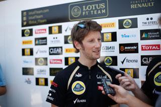 © LAT - Grosjean garde la confiance de Lotus